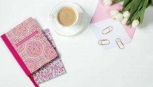 como usar o caderno personalizado como brinde?